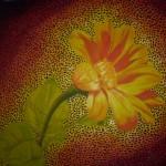 tulip, oil on canvas