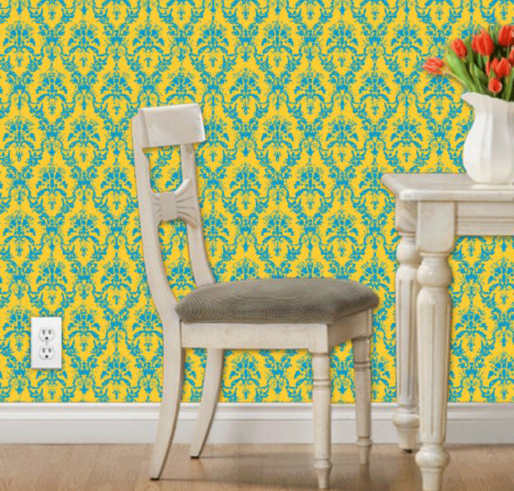 New fabrics out now! …and wallpaper??