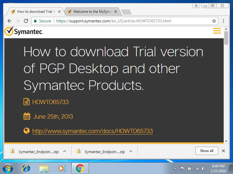 PART 1: Symantec エンクリプション・デスクトップHDDをリカバーする